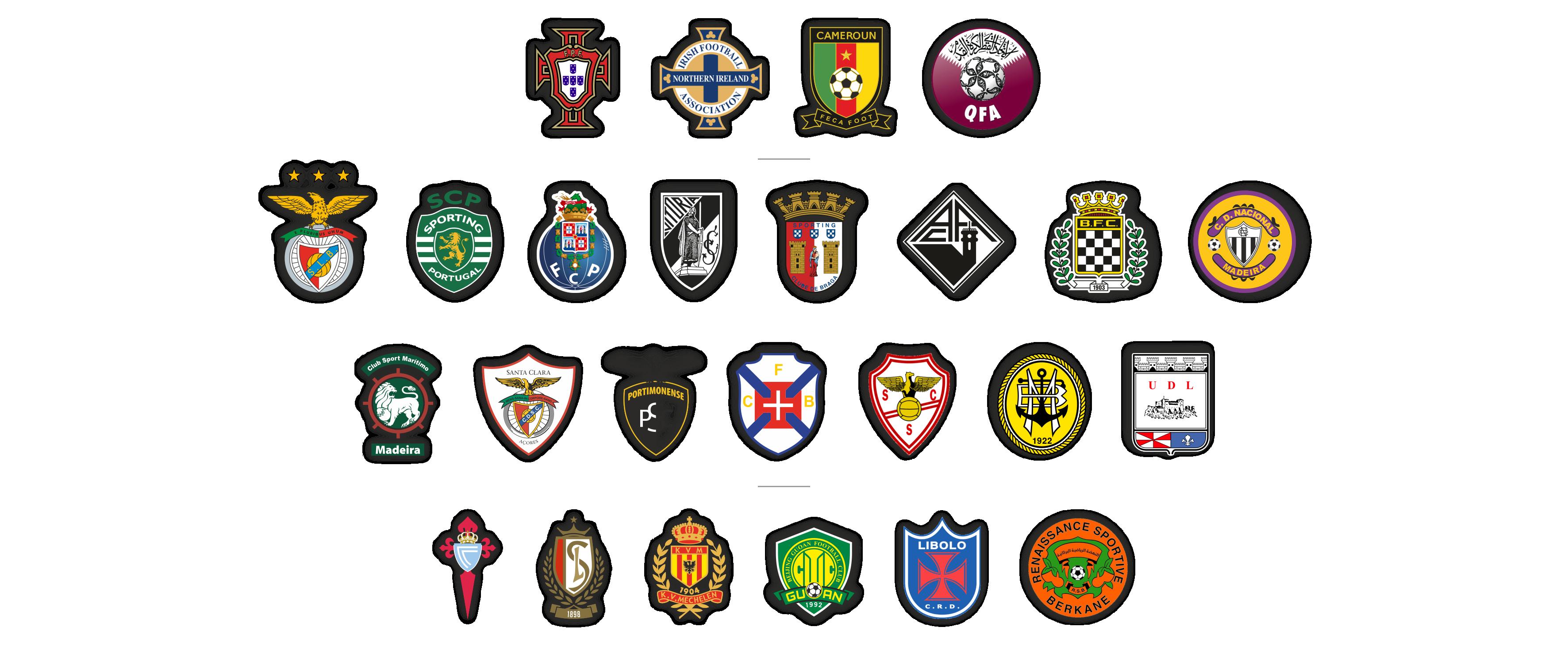 logos clubes centro de estagio